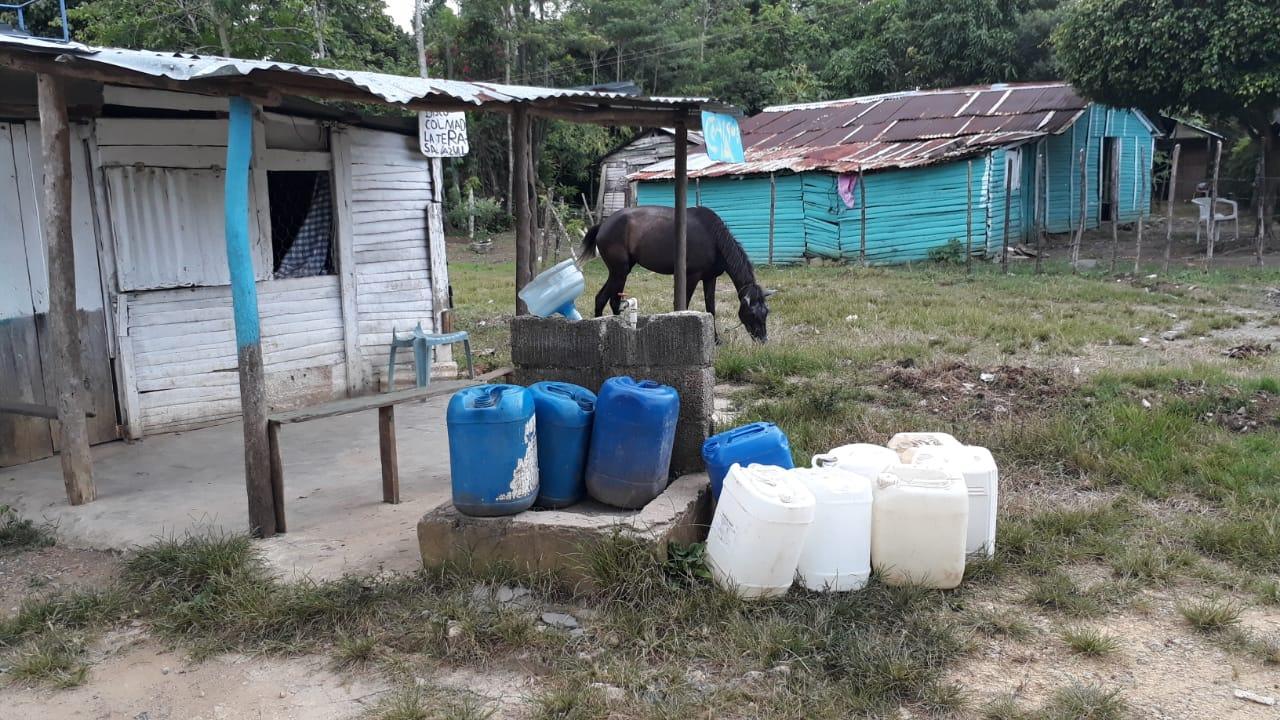 Llevan 28 días sin agua.