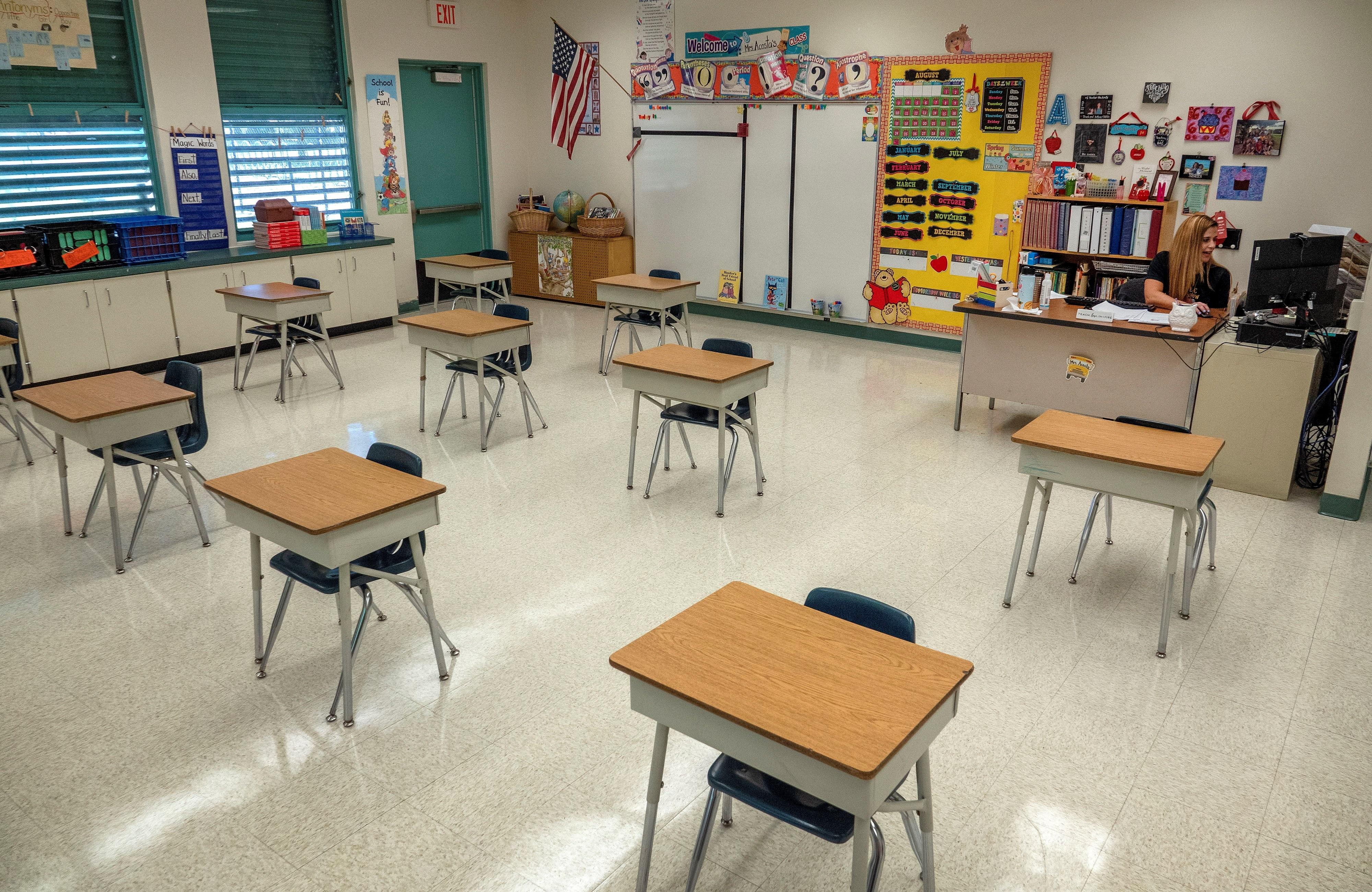 Más de 80 casos de COVID-19 en las escuelas de Miami-Dade